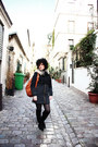 Black-primadonna-boots-dark-gray-zara-coat-tawny-tuscany-leather-bag