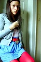 Old Navy sweater - belt - Target tights - American Apparel skirt - C&C Californi