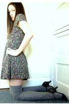 H&M dress - Target socks - Steve Madden shoes
