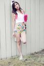 Lazy-oaf-shorts-victorias-secret-pink-accessories-victorias-secret-pink-top