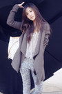 Long-cardigan-vince-jacket-stylenanda-pants-pins-and-needles-blouse