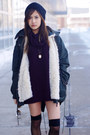 Booties-forever-21-boots-beanie-asos-hat-anorak-zara-jacket
