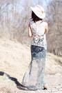 Maxi-skirt-mimichica-skirt-crop-top-brandy-melville-top