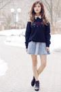 Black-buckle-forever-21-boots-chiffon-forever-21-shirt-logo-kenzo-sweatshirt