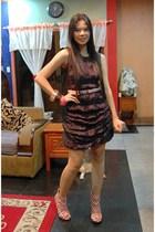 own design dress - belt - Urbanogcom shoes - Girlshoppe accessories
