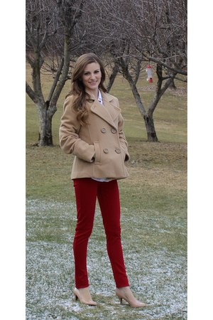 peacoat camel American Eagle coat