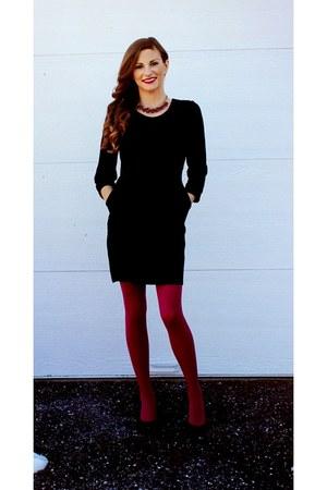 black Macys dress