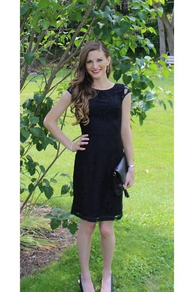 black lace Kristines Collection dress