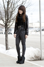 Black-h-m-jacket-gray-h-m-pants-black-bcbg-boots