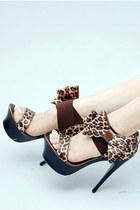 stylish bowknot sandals