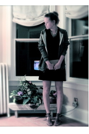 American Apparel sweater - American Apparel dress - Nine West shoes - calvin kle