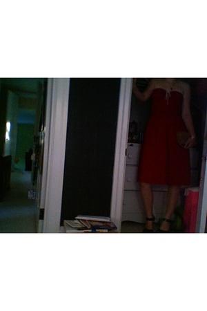 dress - Jeffrey Campbell shoes - calvin klein purse