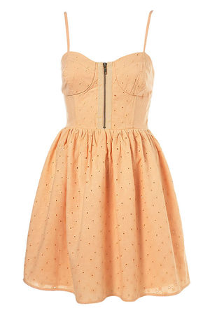 beige Topshop dress - Topshop dress