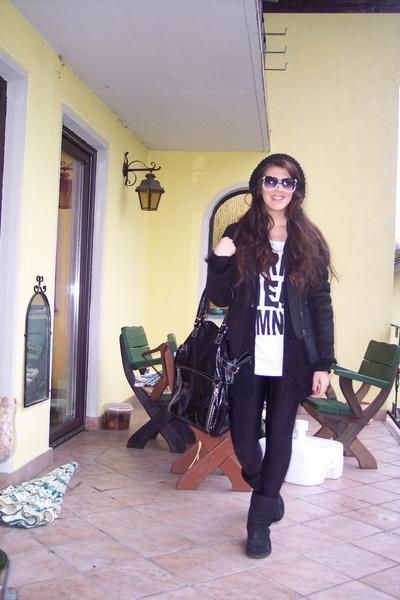 Prada jeans - gestuz shirt - grstuz pants - manila grace purse - Zara vest - boo