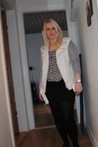 GINA TRICOT vest - H&M dress - H&M top