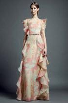 floral print Valentino dress