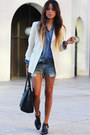White-banana-republic-blazer-blue-forever-21-shirt-black-coach-bag