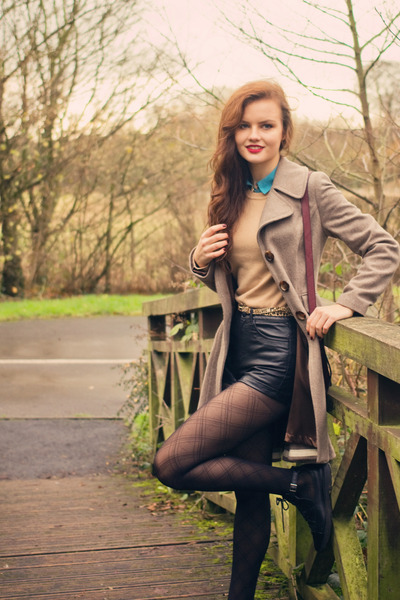 Camel-topshop-coat-dark-gray-sheer-argyle-marks-and-spencer-tights