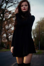 Black-boots-black-swing-dress-coco-boo-loves-dress