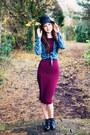 Black-patent-cutout-topshop-boots-maroon-topshop-dress