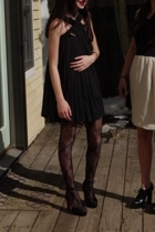 dress - Urban Outfitters tights - Christian Louboutin shoes