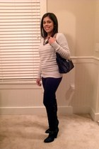 Zara boots - Gap sweater - Michael Kors bag