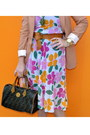 Thrifted-vintage-dress-h-m-blazer-fendi-bag-h-m-belt-michael-kors-watch-