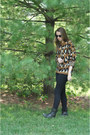Steve-madden-boots-urban-outfitters-sweater-urban-outfitters-sunglasses