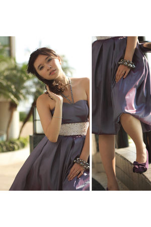 purple NafNaf shoes