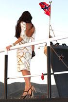 ivory asos dress