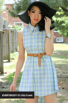 DIY Men's Shirt Into A Cut-Out Dress
