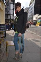 ASH heels - Zara blazer - Zara t-shirt