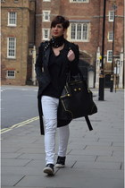 Alexander McQueen bag - Guess coat - ASH sneakers - Dixie blouse