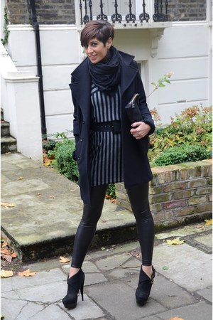 Rachel Zoe shoes - Max & Co dress - Guess coat - Topshop leggings
