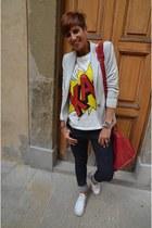 Phillip Lim t-shirt - Diesel jeans - Zara blazer - balenciaga bag