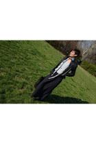 Topshop skirt - Guess jacket - Alexander McQueen scarf