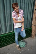 Guess jeans - D&G shirt - Isabel sneakers