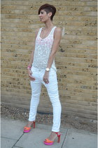 Zara shoes - Guess jeans - Zadig & Voltaire top