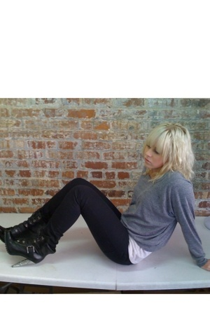 aa shirt - aa shirt - Cheap Monday jeans - jesssica simpson boots