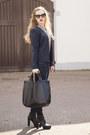 Black-daniele-dentici-boots-navy-h-m-jeans-navy-vila-blazer-black-zara-bag