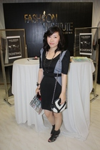black duchess dress - black from hongkong shoes - black paul herrera purse
