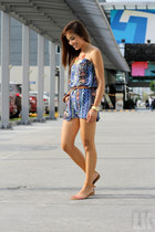blue apartment 8 romper