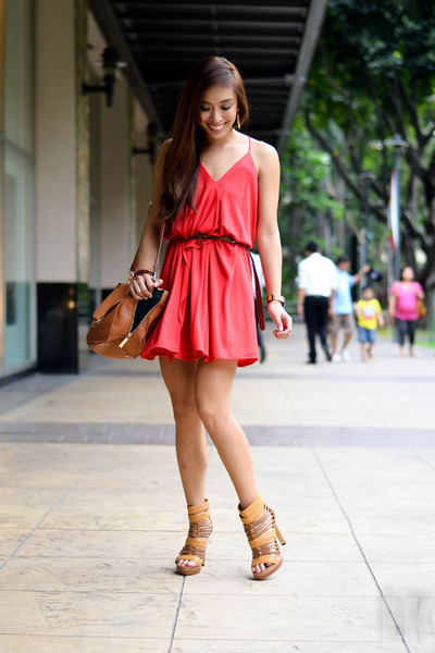 red Mango dress