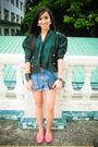 Green-random-from-hong-kong-top-blue-from-my-sisters-closet-shorts-pink-pean