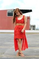 orange apartment 8 dress