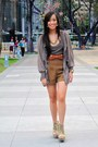 Olive-green-topshop-top-brown-shorts-brown-pink-manila-belt-brown-fivebyfi