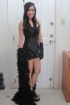 black Glitterati intimate - black Glitterati skirt - black Glitterati accessorie