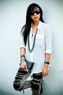 White-tango-top-black-random-brand-accessories-black-zara-accessories-blac