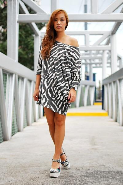 shirtdress H&M dress - Jellybean shoes