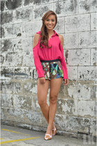 hot pink apartment 8 top